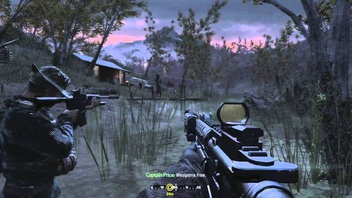 Call of Duty 4 Modern Warfare FB