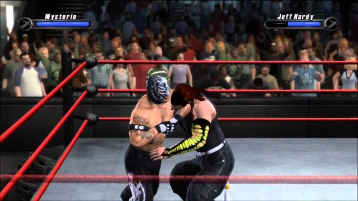 Smackdown vs Raw 2008 Rey and Jeff