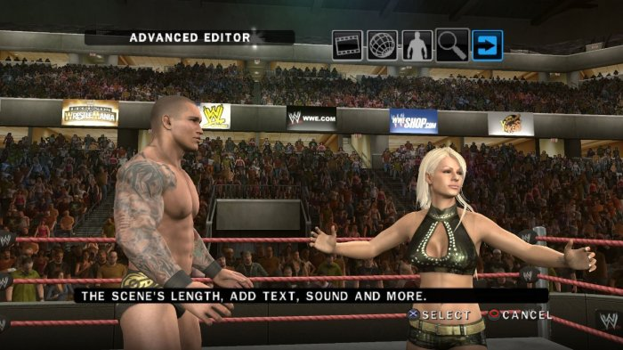 WWE Smackdown vs Raw 2010 Orton Maryse