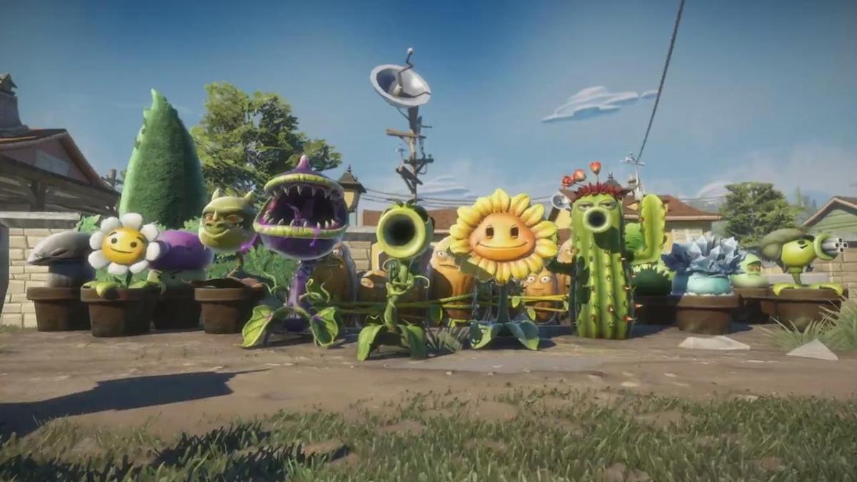 Plants Vs Zombies Garden Warfare Review Brandon
