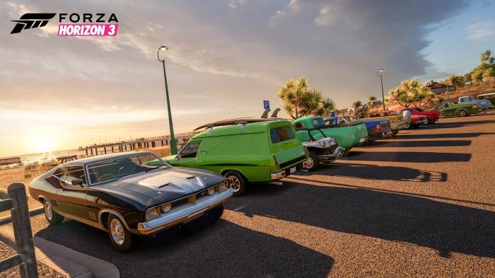 Beach Parking in Forza Horizon 3