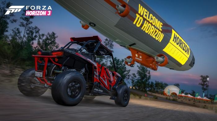 Blimp Race in Forza Horizon 3