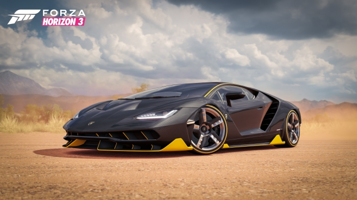 Centenario Beauty Shot in Forza Horizon 3