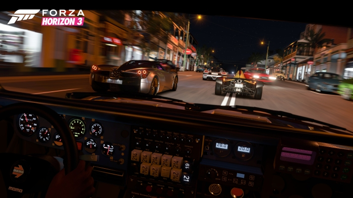 Cockpit View in Forza Horizon 3